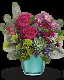 Teleflora's Topaz Wonderland Bouquet Bouquet