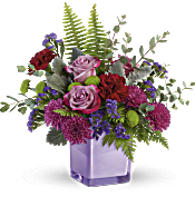 Teleflora's Purple Serenity Bouquet Flowers