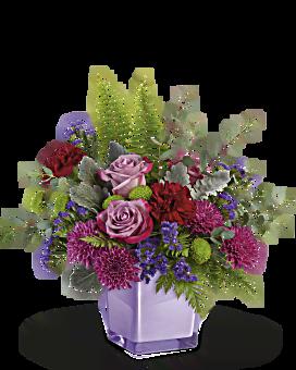 Teleflora's Purple Serenity Bouquet Bouquet