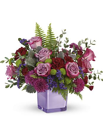 Purple Serenity Bouquet Flowers