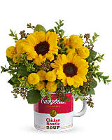 Campbell's Warm Wishes Bouquet by Teleflora