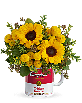 Campbell's® Warm Wishes Bouquet by Teleflora  Bouquet