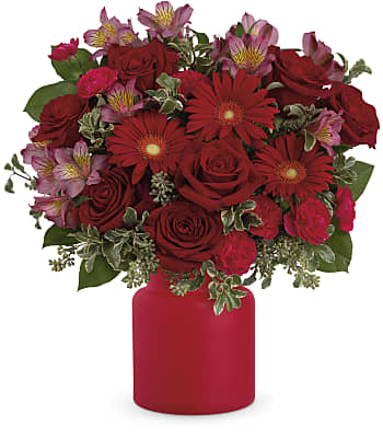 Teleflora's Enchanted Red Flowers