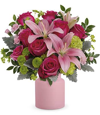 Teleflora's Savannah Blush Bouquet Flowers