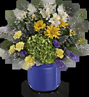 Teleflora's Sunrise At Sea Bouquet Flowers