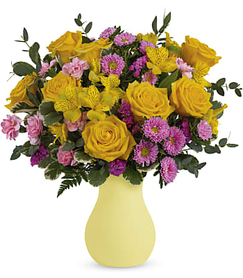 Teleflora's Happy As Can Be Bouquet Flowers