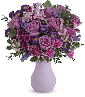 Teleflora's Prettiest Purple Bouquet Flowers