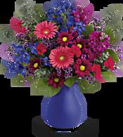 Teleflora's Jewel Tones Bouquet Flowers