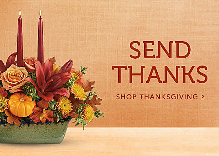 Shop Thanksgiving Flowers