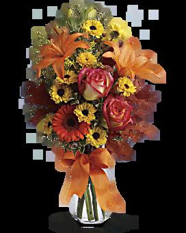 Bouquet Les feux de l'automne
