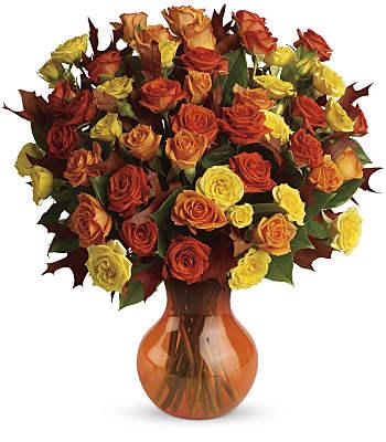 Teleflora's Fabulous Fall Roses Flowers