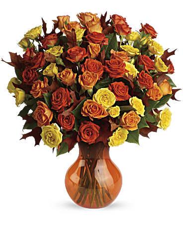 Teleflora's Fabulous Fall Roses Bouquet - Teleflora on