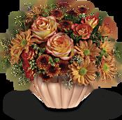 Teleflora's Joyful Hearth Bouquet Flowers