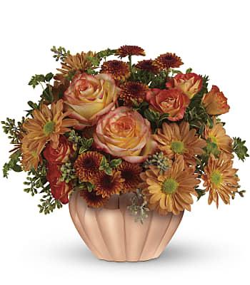 Joyful Hearth Bouquet Flowers