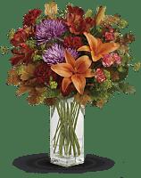 Teleflora's Fall Brights Bouquet