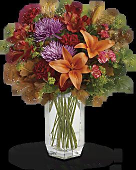 Teleflora's Fall Brights Bouquet Bouquet
