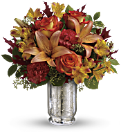 Teleflora's Fall Blush Bouquet Flowers