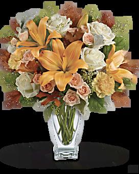 Teleflora's Seasonal Sophistication Bouquet Bouquet