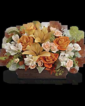 Bouquet Élégance d'automne de Teleflora