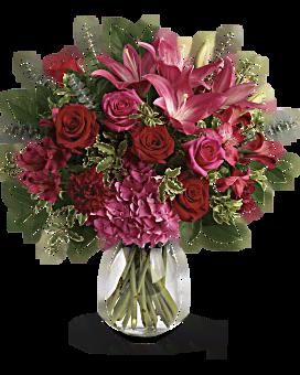 bouquet frappé par amour