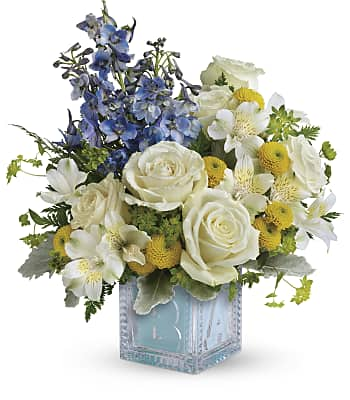 Teleflora's Welcome Little One Bouquet Flowers