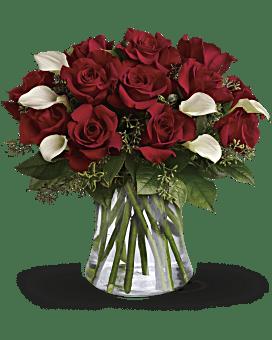 Be Still My Heart - Dozen Red Roses Bouquet