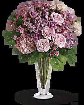 A La Mode Bouquet with Long Stemmed Roses Bouquet