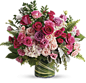 Haute Pink Bouquet Flowers