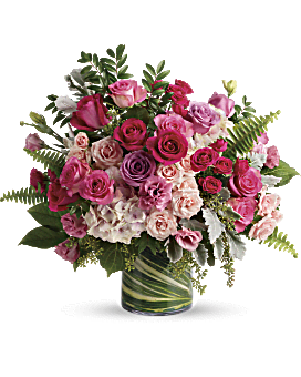 Bouquet Rose vif