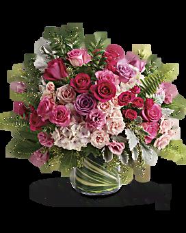 Haute rose bouquet