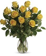 Say Yellow Bouquet Flowers