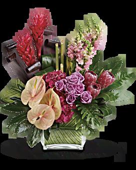 Tropiques bouquet de Tahitian