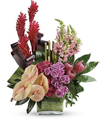 Tahitian Tropics Bouquet Flowers