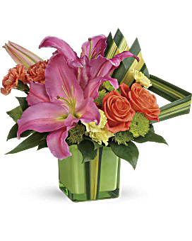 de Teleflora me colorent bouquet mignon