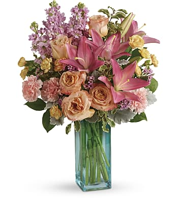 Teleflora's Pretty And Posh Bouquet Flowers