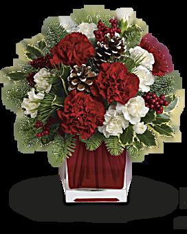 Make Merry by Teleflora Flower Arrangement