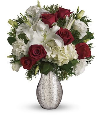 A Christmas Kiss by Teleflora Flowers