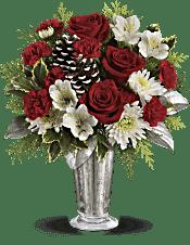 Teleflora's Timeless Cheer Bouquet Flowers