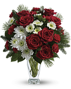 Teleflora's Winter Kisses Bouquet Bouquet