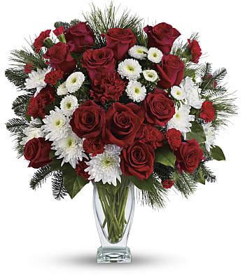Winter Kisses Bouquet Flowers