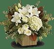 Teleflora's Snowy Woods Bouquet