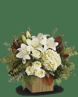 Teleflora's Snowy Woods Bouquet Bouquet
