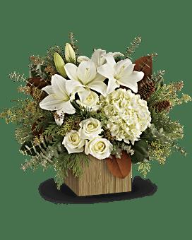 Bouquet Bois enneigés de Teleflora