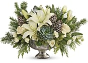 Winter Wilds Centerpiece Flowers