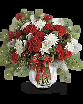 Bouquet Brillance des fêtes de Teleflora