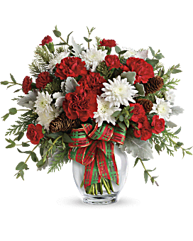 Teleflora's Holiday Shine Bouquet Bouquet