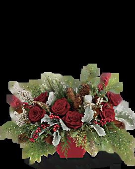 Christmas Flowers Christmas Flower Arrangements Teleflora