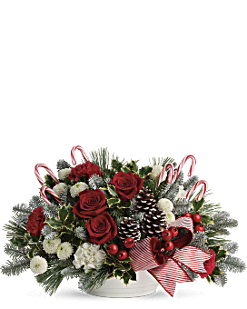 Jolly Candy Cane Bouquet Bouquet