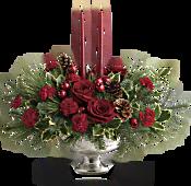 Teleflora's Shining Bright Centrepiece Flowers