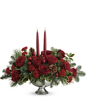 Teleflora's Shining Bright Centerpiece Flowers